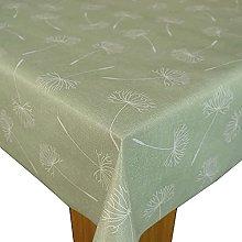 Karina Home Megan Wipe Clean Tablecloth Vinyl PVC