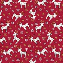 Karina Home Scandi Christmas Reindeer PVC Vinyl