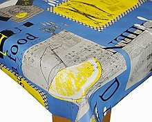 Karina Home Seafood Diner PVC Tablecloth 200cm x