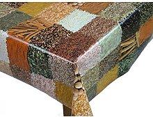Karina Home SPICES Vinyl PVC Oilcloth Tablecloth
