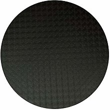 Karina Home Table Protector (Black, Round 120cm)