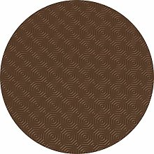 Karina Home Table Protector (Brown, Round 137cm)