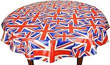 Karina Home Union Jack Cotton Oilcloth Tablecloth