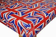 Karina Home Union Jack Flag Oilcloth Tablecloth