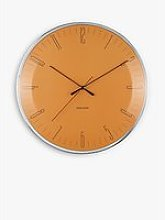 Karlsson Dragonfly Silent Sweep Wall Clock, 40cm,
