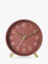 Karlsson Lofty Metal Analogue Alarm Clock