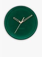 Karlsson Luxurious Velvet Silent Sweep Wall Clock,