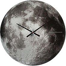 Karlsson Moon Glass Wall Clock with Sweep