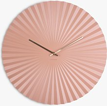 Karlsson Sensu Steel Analogue Wall Clock, 50cm,