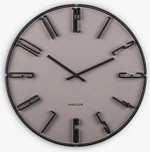 Karlsson Sentient Arabic Numerals Wall Clock,