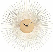 Karlsson Wall Clock - Peony Gold
