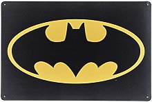 Karmour Accessories Batman Logo - Vintage Metal