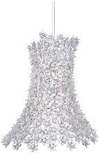 Kartell - 70cm Crystal Bloom Suspension Light
