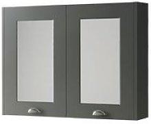 Kartell Astley Mirror Cabinet 800mm Matt Grey