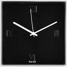 Kartell - Black Tic and Tac Wall Watch