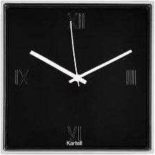 Kartell - Black Tic & Tac Clock