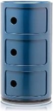 Kartell - Blue Three Door Componibili Cabinet -