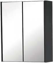 Kartell Cayo 2-Doors Mirrored Bathroom Cabinet