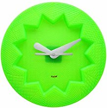 Kartell Crystal Palace Wall Clock, Green, 34 x 4 x