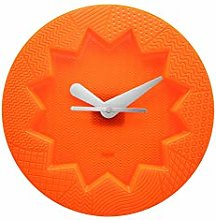 Kartell Crystal Palace Wall Clock, Orange, 34 x 4
