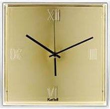 Kartell - Gold Tic & Tac Clock
