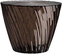 Kartell Sparkle Furniture, PMMA, Grey, 51 x 51 x