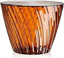 Kartell Sparkle Furniture, PMMA, Orange, 51 x 51 x