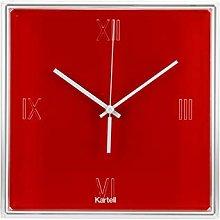 Kartell Tic &, Tac Clock Orange Red
