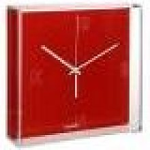 Kartell - Tic Wall Clock - Red