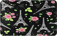KASMILN carpet bath mat,rug,Perfect For Travel