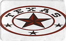 KASMILN carpet bath mat,rug,Round Symbol With Lone