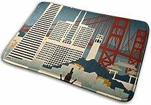 kasonj San Francisco California Retro Skyline