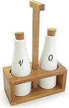Kassel Porcelain Olive Oil and Vinegar Set of