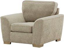 Kate Armchair August Grove Upholstery Colour: Beige
