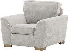 Kate Armchair August Grove Upholstery Colour: Grey