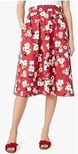 Kate Spade New York Botanical Garden Midi Skirt -