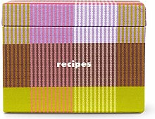 Kate Spade New York Recipe Box with 40 Double