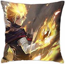 KATEKYO HITMAN REBORN Square Pillowcase Soft Plush