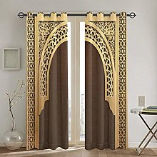 KATERN Moroccan Curtains, Middle Eastern Culture