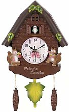 Katigan Cute Bird Wall Clock Cuckoo Alarm Clock
