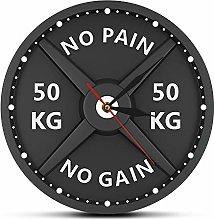 Katigan Strongman 50KG Print Wall Clock Circular