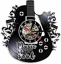 Katigan Wall-Clock Modern Art Vinyl Record Guitar