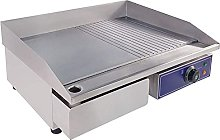 KAUTO Electric Countertop Griddle, Stainless Steel