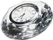 KAWA DESK CLOCK L Rosalind Wheeler Size: 8cm H x