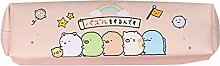 Kawaii Cartoon Pencil Bag Leather Pen Case Kids