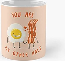 Kawaii Cute Egg and Bacon Couple You are My Other