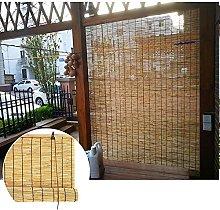 KAXO Outside Roll up Blinds-Waterproof Bamboo