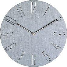 Kaxofang 12 Inch Minimalist Wall Clock Modern