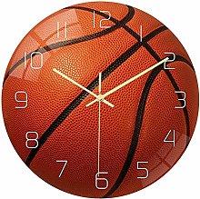 Kaxofang Basketball Acrylic Silent Wall Clock
