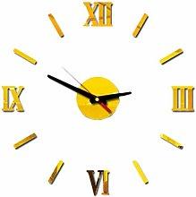 Kaxofang DIY Wall Clock 3D Frameless Clocks Watch